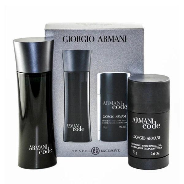Armani Code Men Set toaletní voda a deodorant