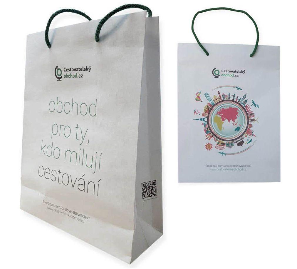Cestovatelský obchod dárková taška