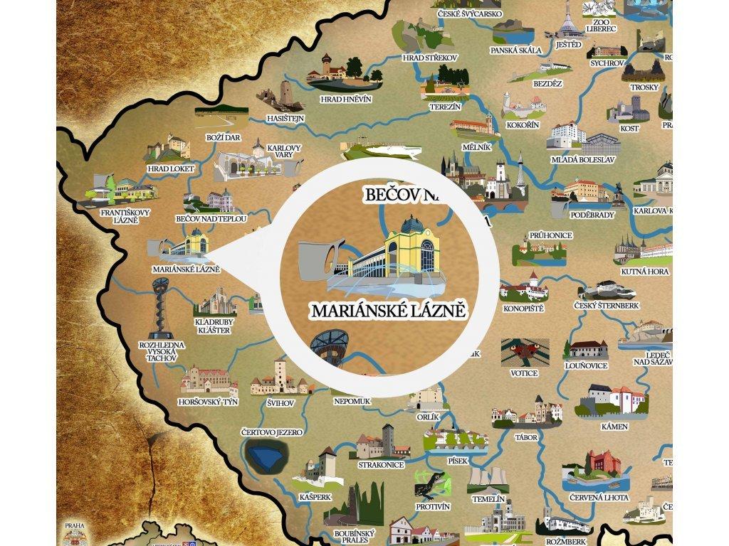 Stiraci Mapa Ceske Republiky