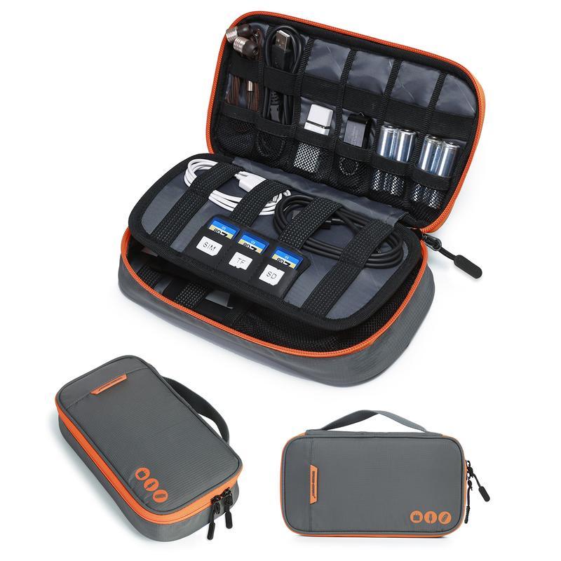 Bagsmart organizér Venice Electronics grey/orange