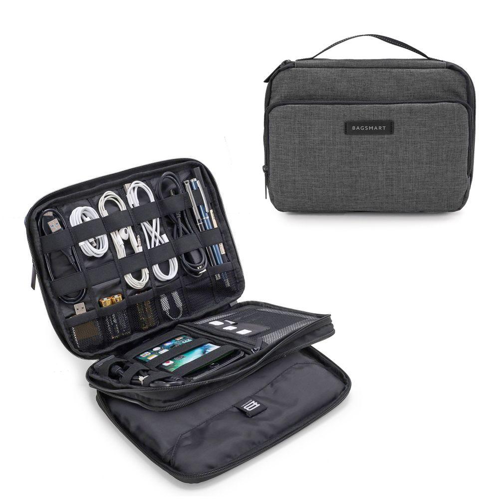 Bagsmart organizér Rosemead Electronics heather black