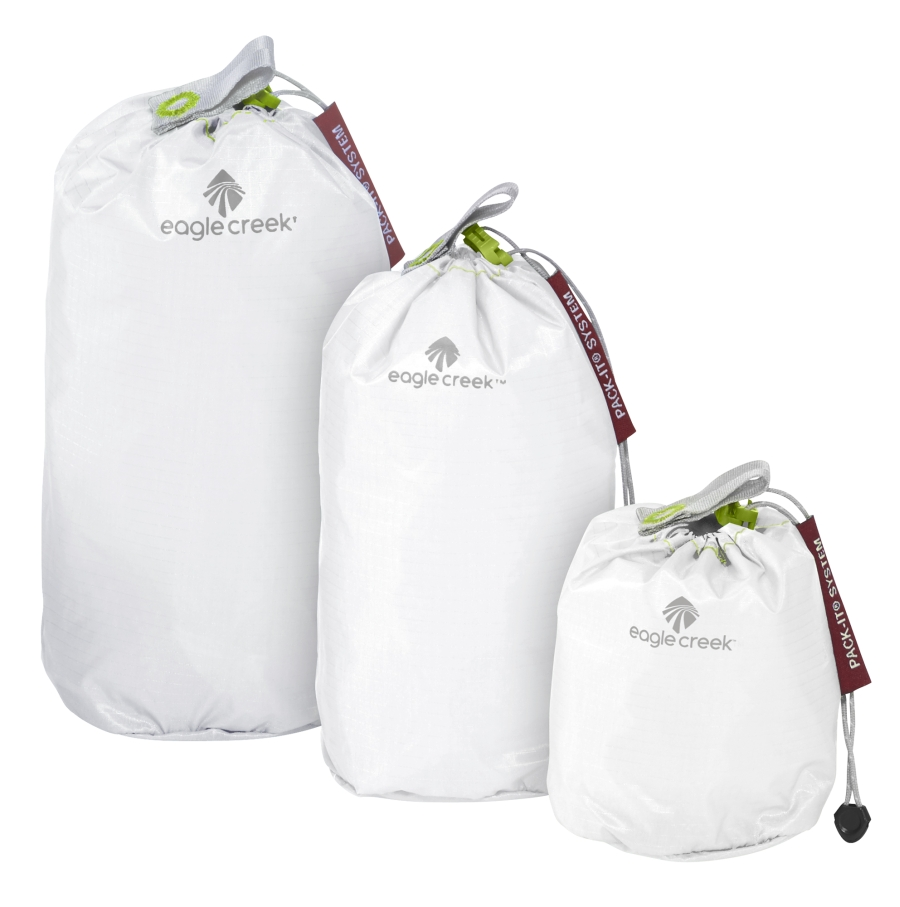 Eagle Creek sada vaků Pack-It Specter Stuffer Set Mini white/strobe