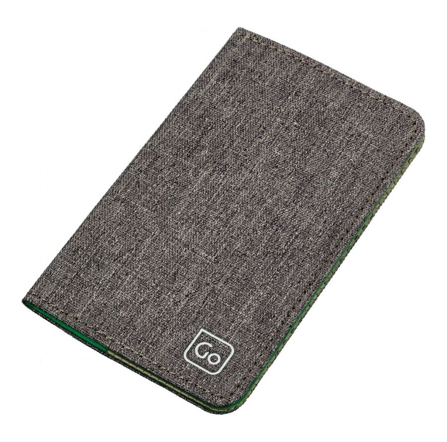 Go Travel pouzdro RFID Micro Credit Card Wallet grey