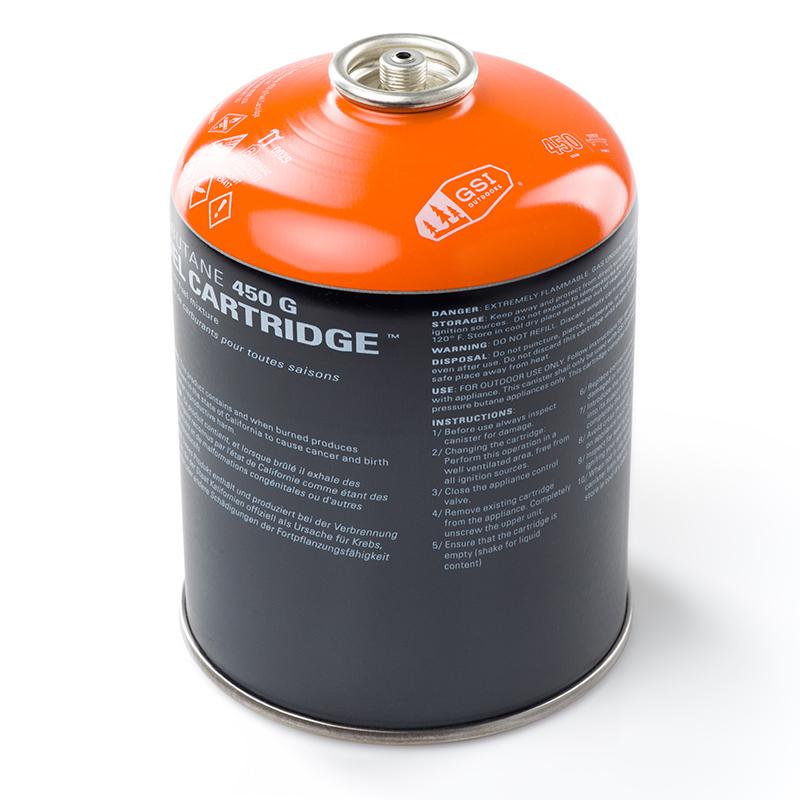 GSI outdoors plynová kartuše Isobutane 450g