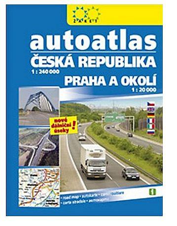 Autoatlas ČR + Praha a okolí 2016