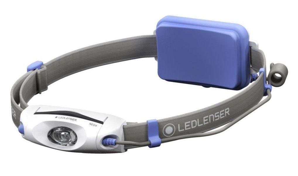 LED LENSER čelová svítilna Neo 4 modrá