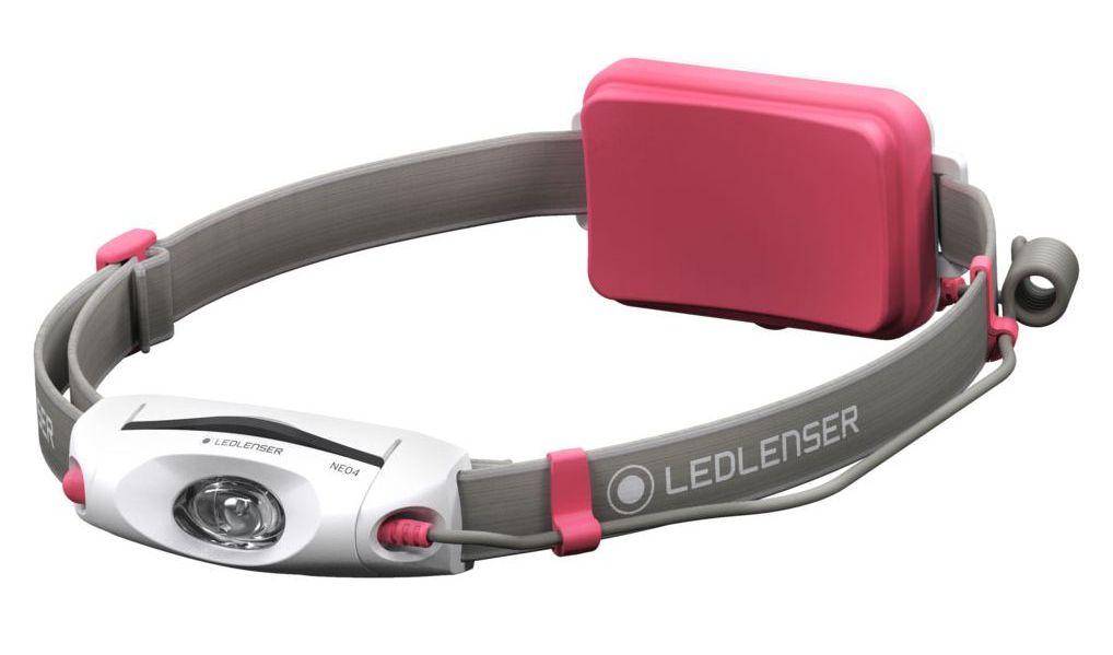 LED LENSER čelová svítilna Neo 4 růžová