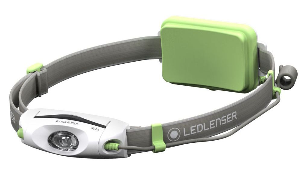 LED LENSER čelová svítilna Neo 4 zelená