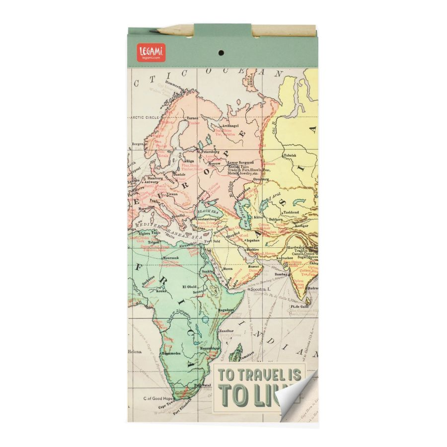 Legami magnetický notes Magnetic Notepad Travel