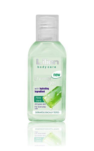 Lilien cestovní sprchový gel Aloe Vera 50ml