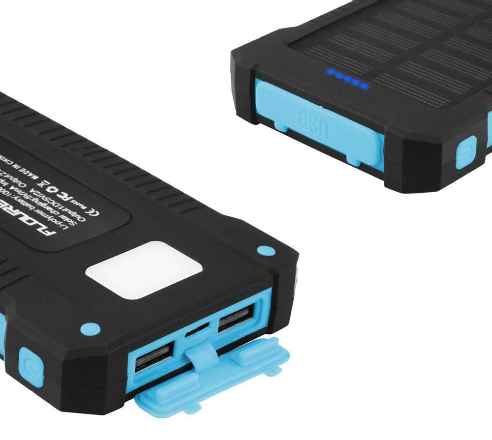 Mitone solární powerbanka Solar Power 4000mAh blue
