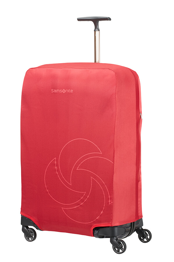 Samsonite obal na kufr Foldable Luggage Cover L/M red
