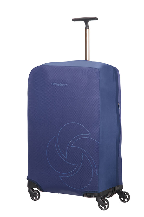 Samsonite obal na kufr Foldable Luggage Cover M midnight blue