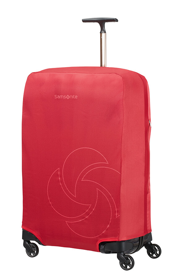 Samsonite obal na kufr Foldable Luggage Cover M red