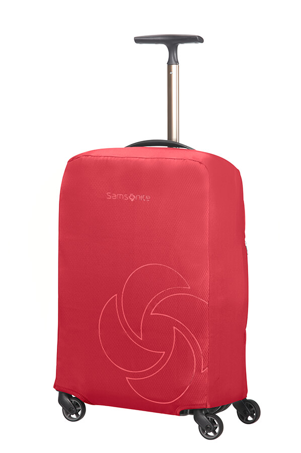 Samsonite obal na kufr Foldable Luggage Cover S red