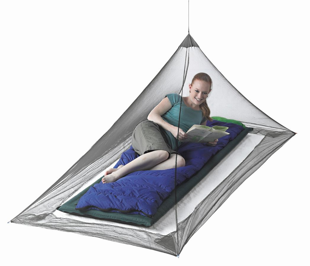 Sea to Summit moskytiéra Mosquito Pyramid Net Single