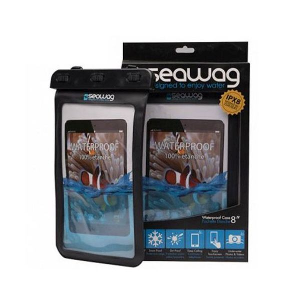 """Seawag vodotěsné pouzdro na tablet 8"""" černé"""