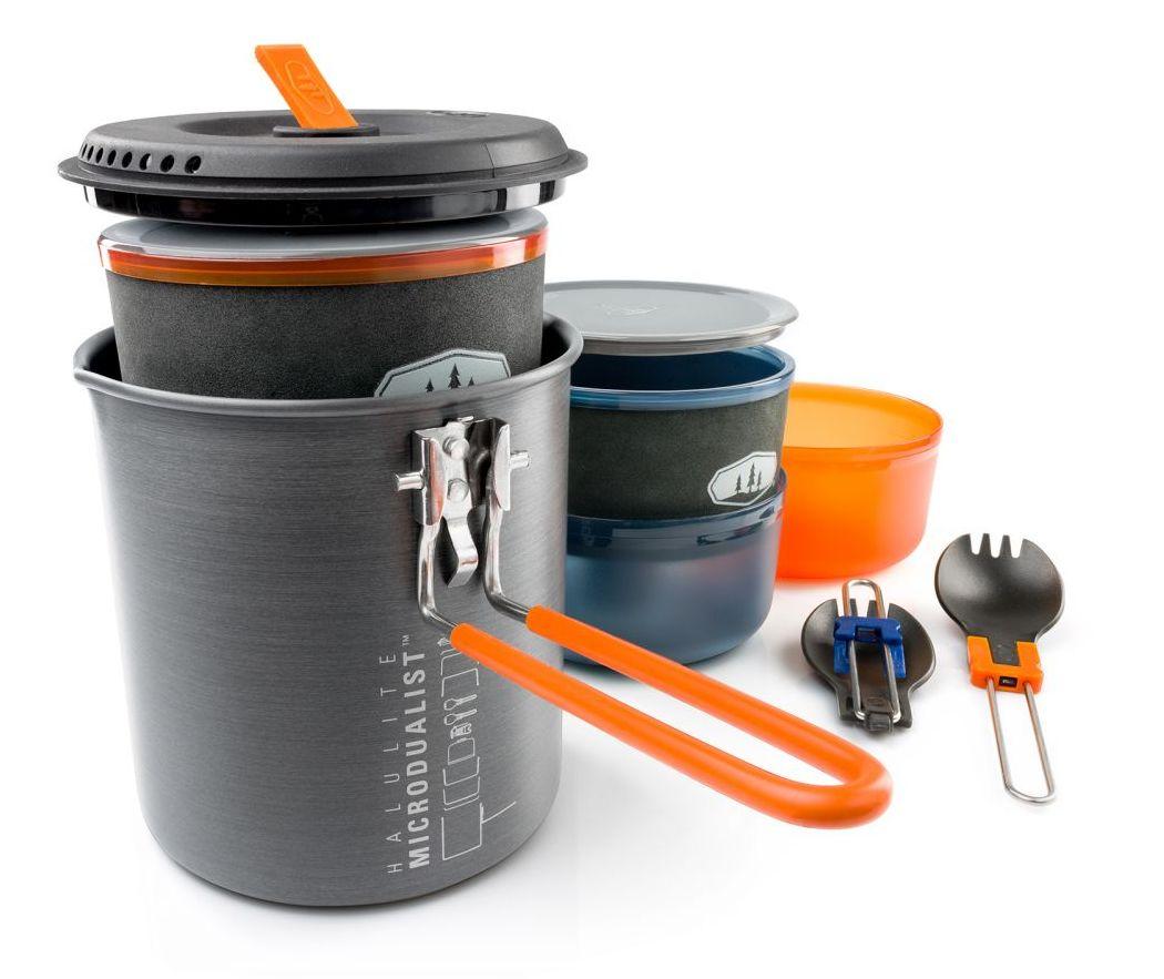 GSI outdoors sada nádobí Halulite Microdualist II