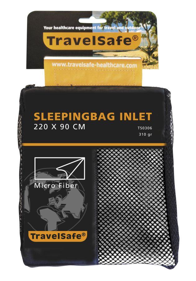 TravelSafe vložka do spacáku Microfiber Envelope beige